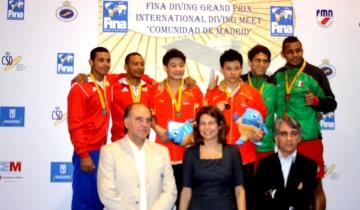 Fina Diving GP Madrid A 2013 A