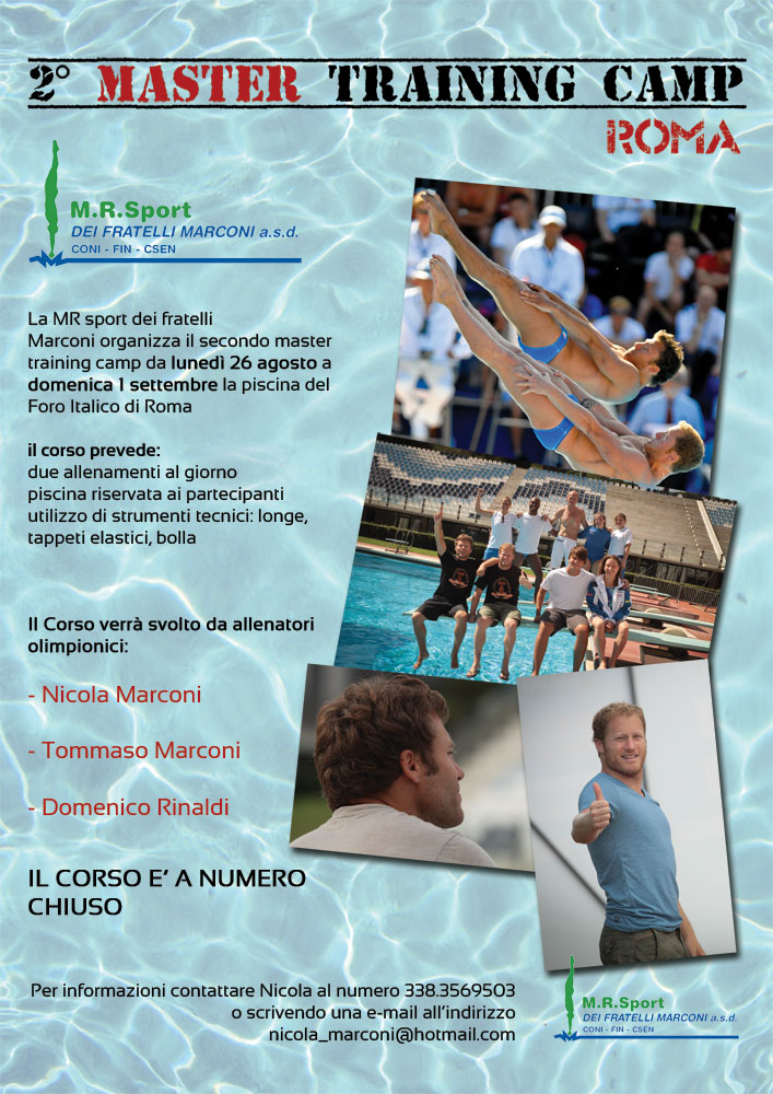 MR Sport 2° Master Diving training Camp