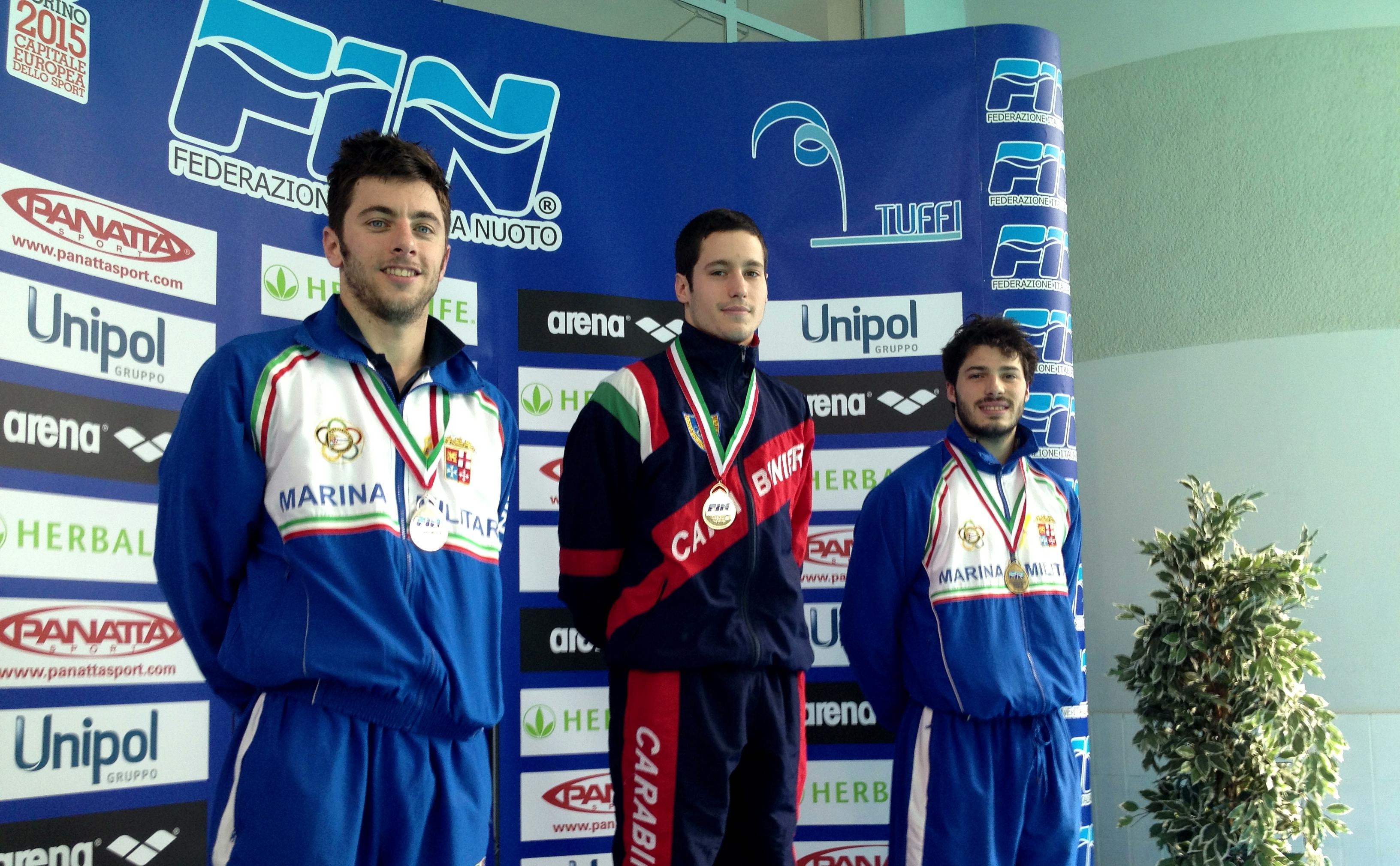 Tuffi Campionati Italiani assoluti invernali Torino 2013
