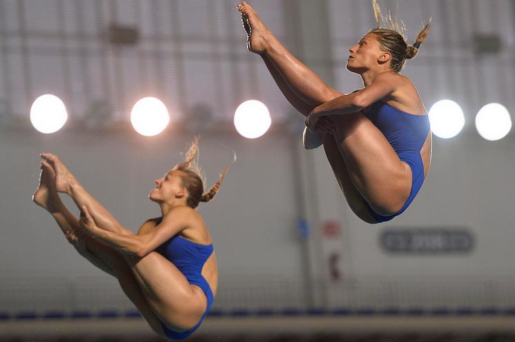 Fina Diving World Series 2013: Guadalajara - Tania e Francesca quarte nel sincro.