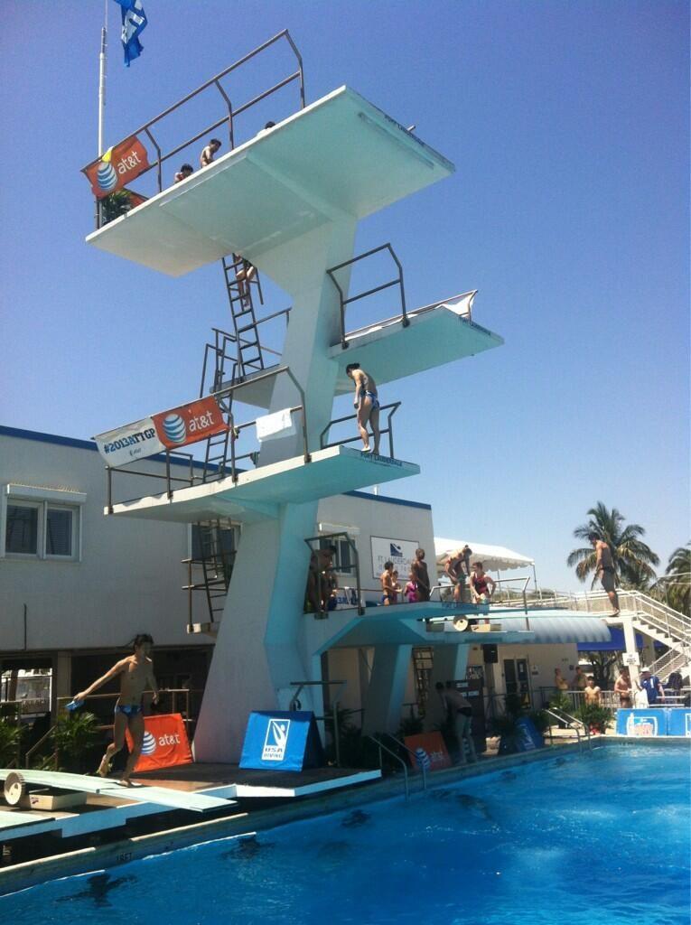 Fina Diving Grand Prix: Fort Lauderdale - eliminatorie amare.