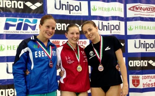 Campionati Italiani Assoluti estivi 2013: sorpresa Barp!