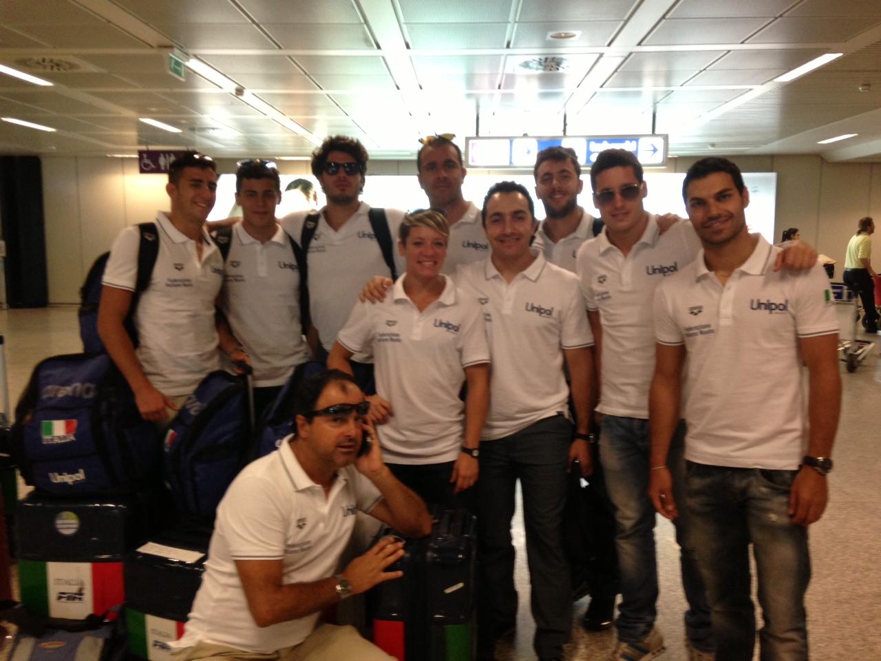 Tuffi Diving Campionati Europei Rostock team