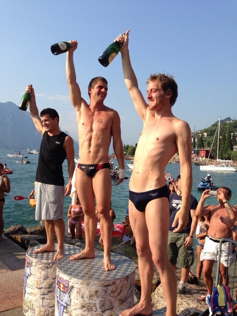 RedBull Cliff Diving: Malcesine - vittoria per David Colturi!