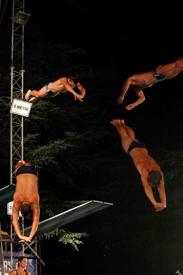 "NewSplash: gli Heroes Diving Team ad ""Italia's got talent""!"