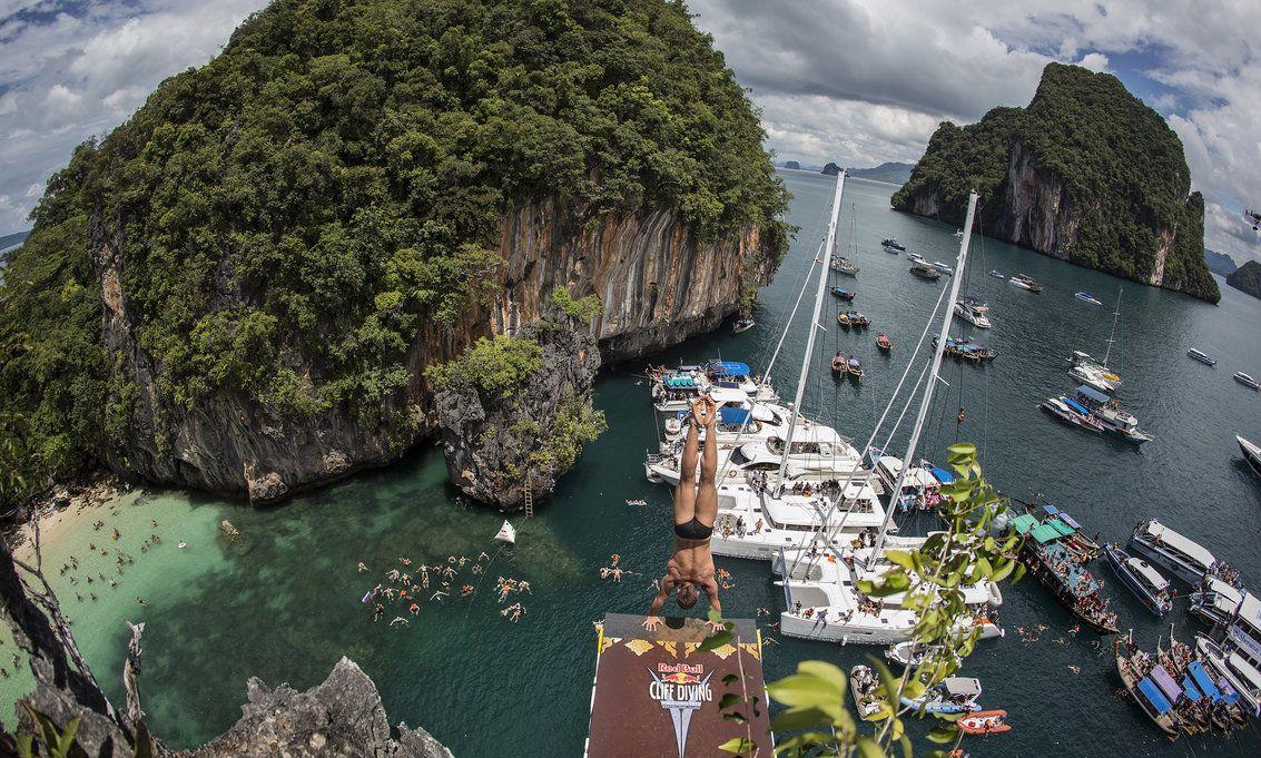 RedBull Cliff Diving Thai 2013