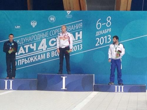 4 Nazioni di Kazan: due podi nella prima giornata!