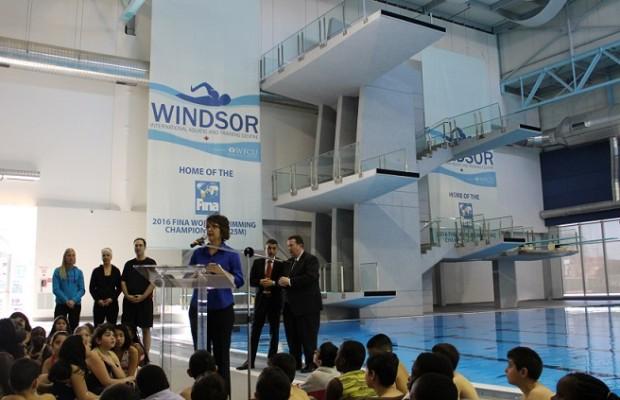 Fina Diving World Series Windsor
