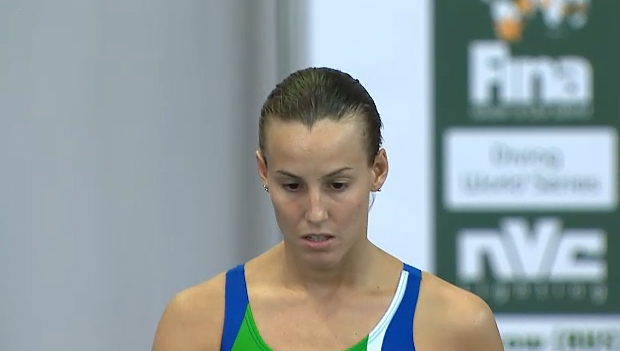 Fina Diving World series Mosca Tania  2014