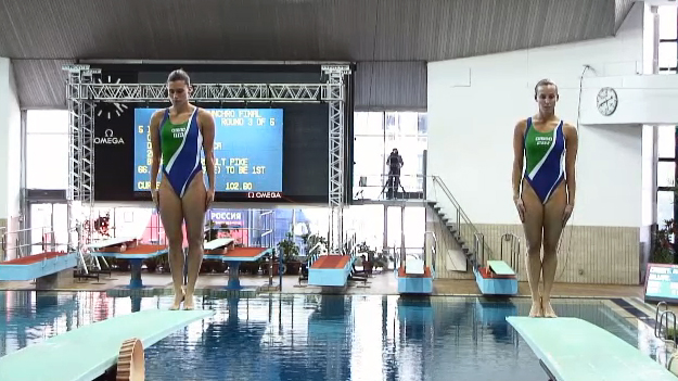 Fina Diving World series Mosca Tania Francesca 2014