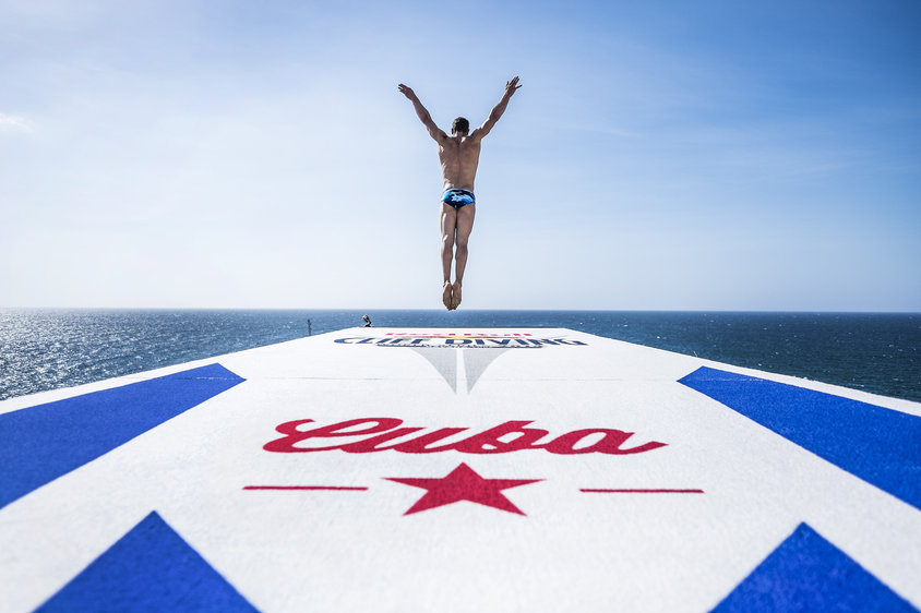 Redbull CliffDiving World Series: Havana - vince Aldrige a sorpresa!
