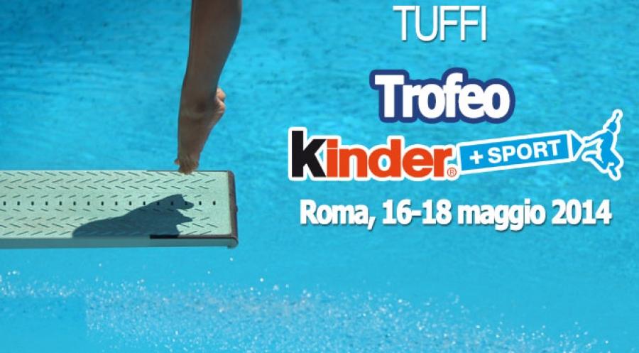 Trofeo Giovanissimi Kinder+Sport: Roma - iscritti e programma gare.