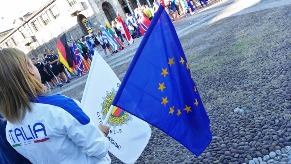 Campionati Europei giovanili: Bergamo - tutti pronti, si comincia!