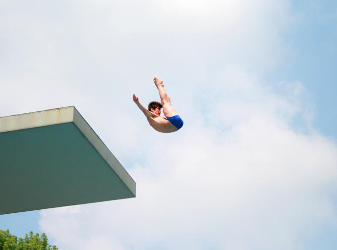 Campionati Europei giovanili: Bergamo - gli ultimi due finalisti.