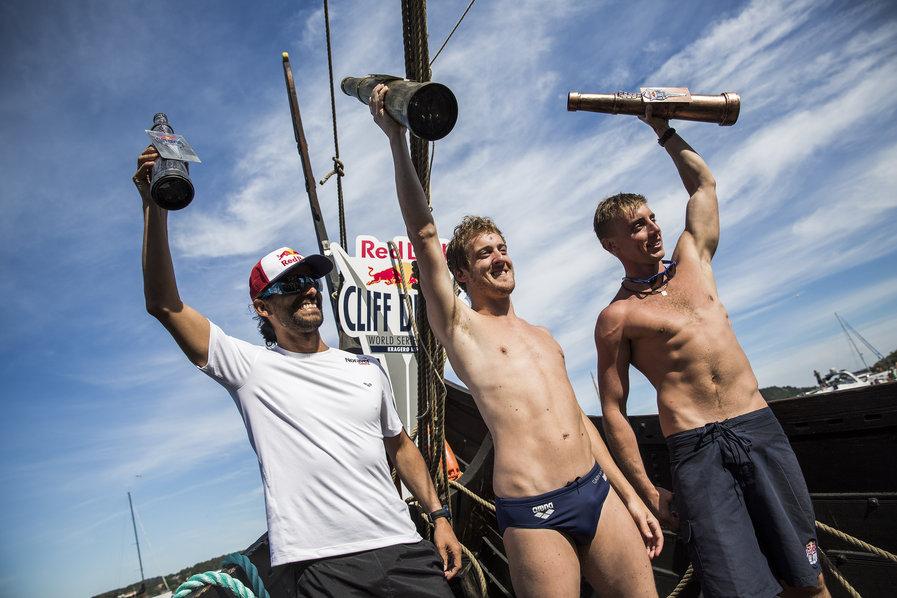 Orlando Duque, Gary Hunt, Artem Silchenko - Winning