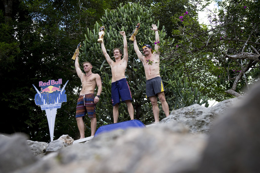 RedBull Cliffdiving World Series 2014: finale di stagione nello Yucatan.