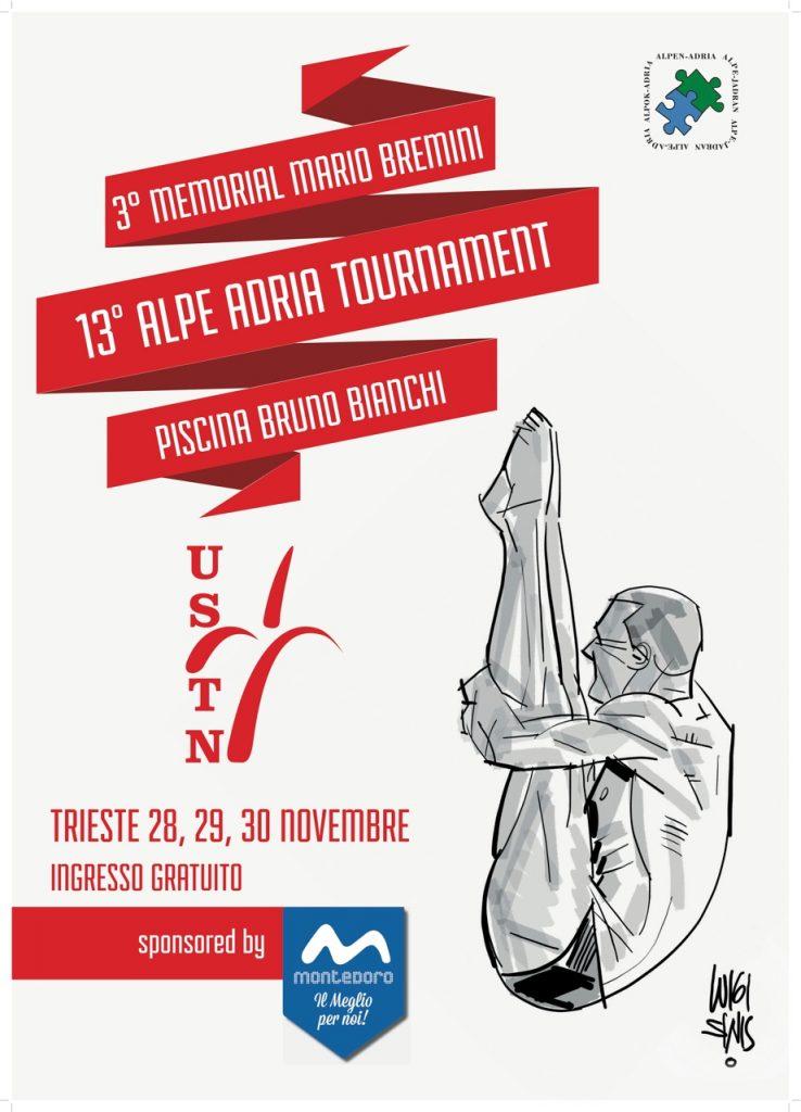 13° Alpe Adria - 3° Memorial Bremini: gli iscritti ed il programma gare.