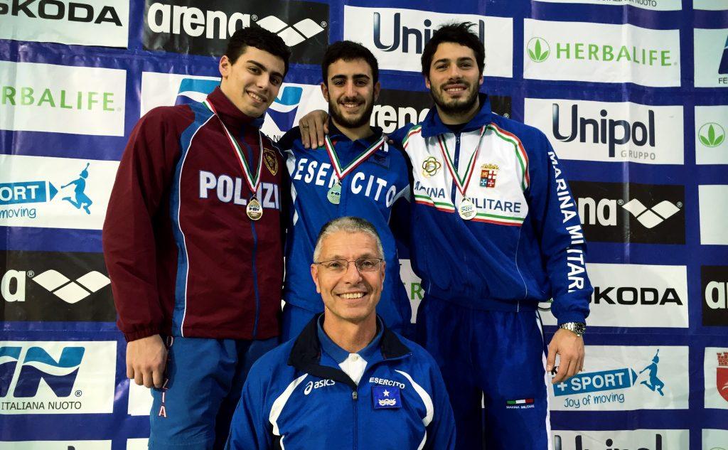 Campionati Italiani di categoria indoor: 1º giorno, pomeriggio - vittoria per Cristofori, Maria Marconi e Tocci.