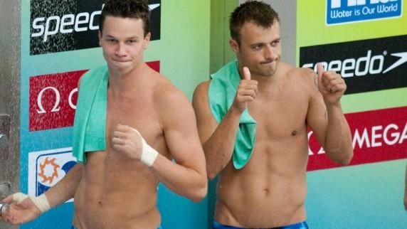 Fina Diving GP: Rostock - Hausding e Klein, coppia perfetta.