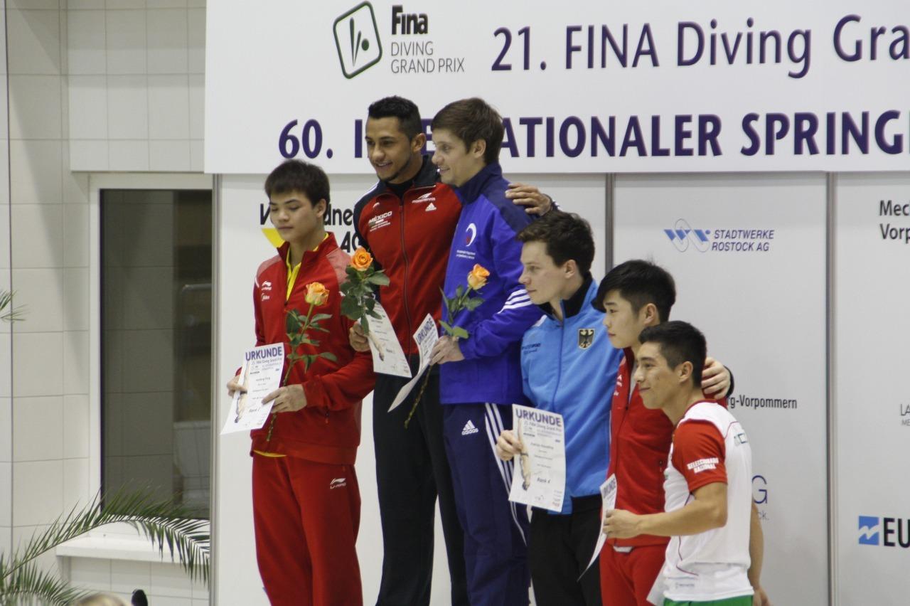 Rostock podio