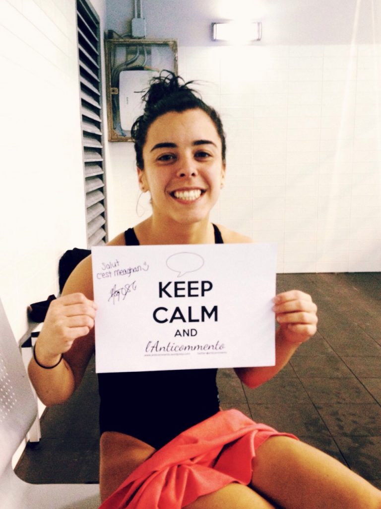 Keep Calm and l'Anticommento: Meaghan Benfeito edition