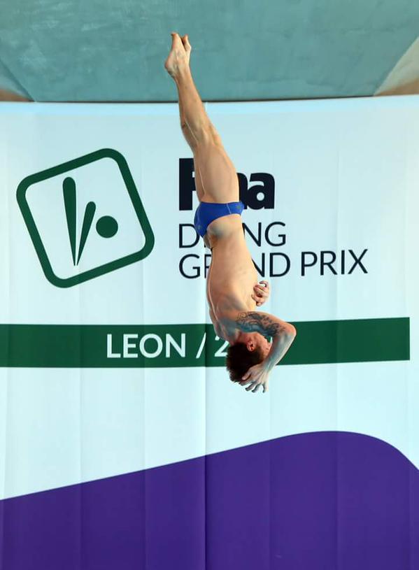 FINA Diving Grand Prix: Leon - Chiarabini stop da 3 metri