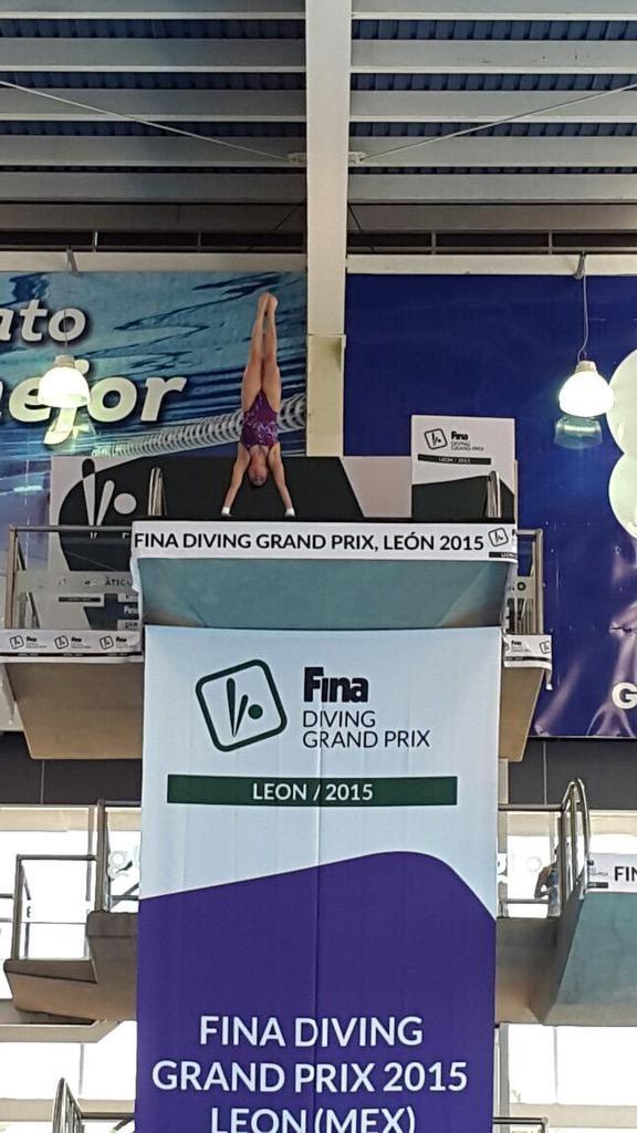 FINA Diving Grand Prix: Leon - Noemi in pole position