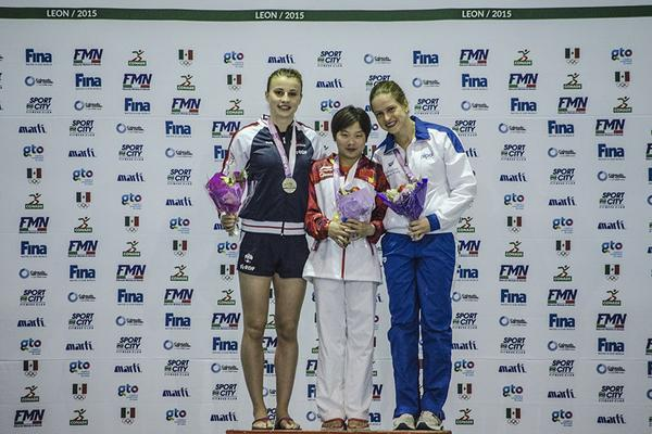 FINA Diving Grand Prix: Leon - Noemi Batki concede il bis, bronzo dalla piattaforma!
