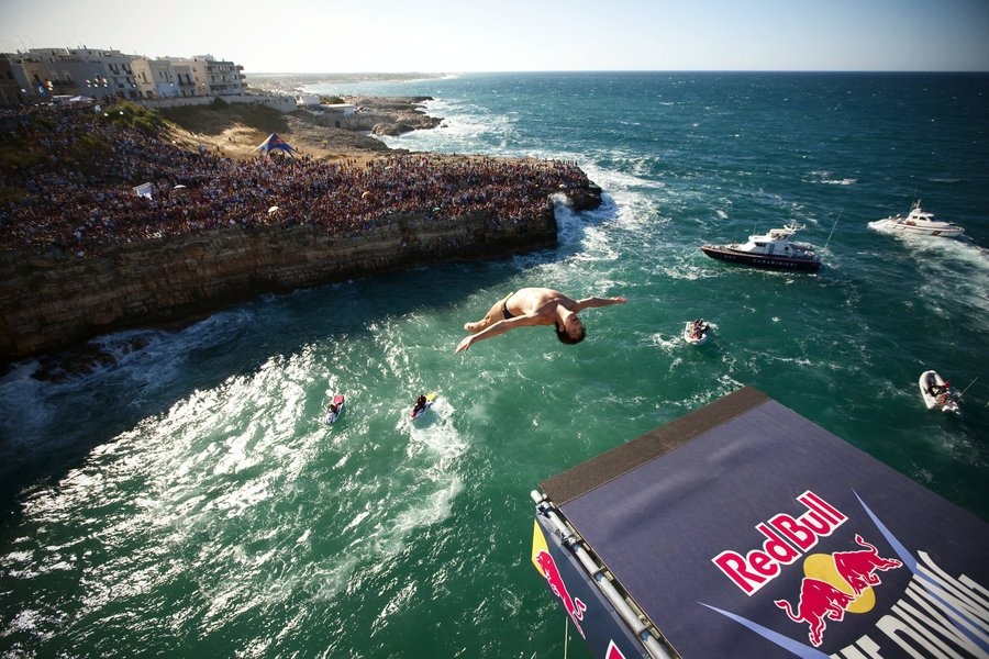 Red Bull Cliff Diving World Series: calendario e partecipanti!
