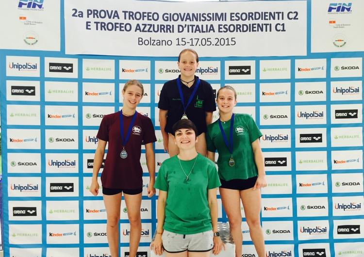 2ª prova Trofeo Giovanissimi: Bolzano - tutti i risultati!