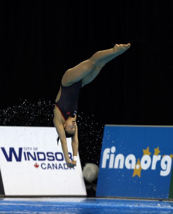 Fina Diving World Series 2015: Windsor – terzo storico oro per Laugher, Abel vicinissima alle cinesi