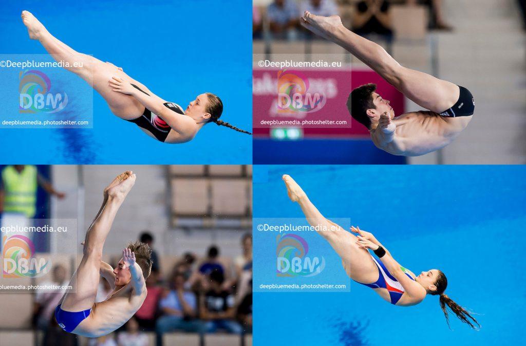 European Games: Baku - Granelli e Barbu ok, stop per Rogantin e D'Alessandro.