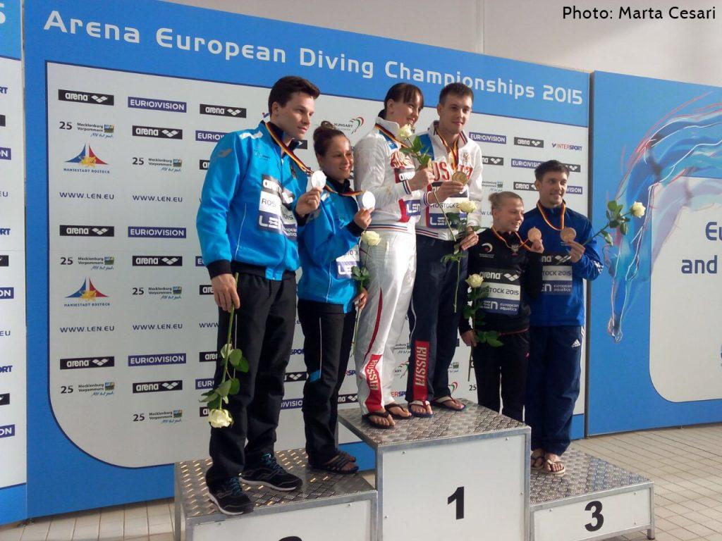 Campionati europei indoor: Rostock - Batki-Benedetti quinti nel team event!