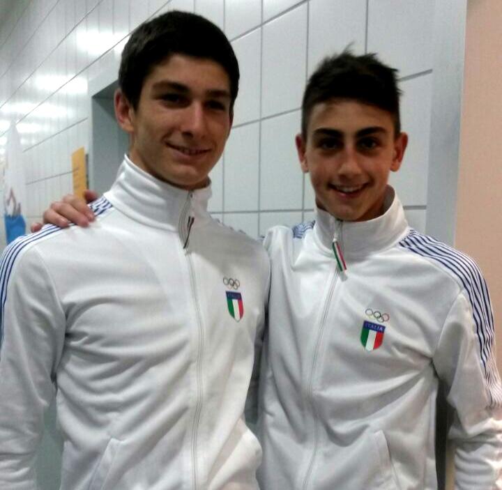 European Games: Baku - Cosoli e Porco, tutta esperienza.