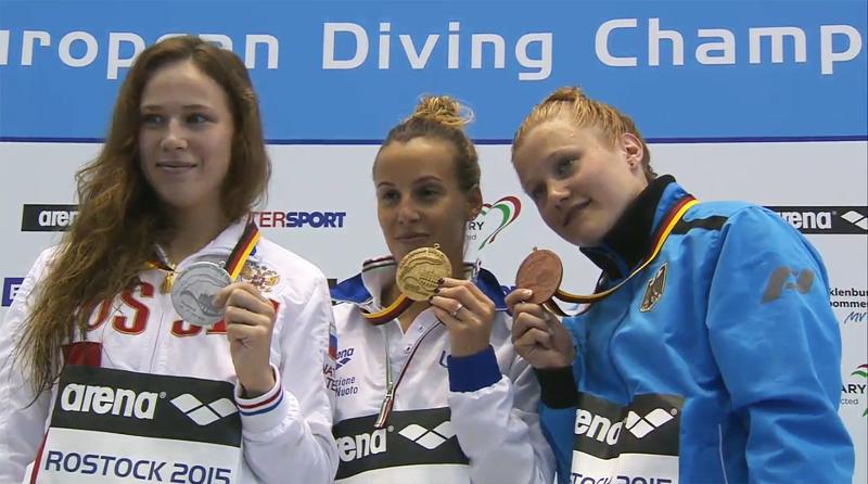 Campionati Europei indoor: Rostock - Tania tuffatrice d'oro!