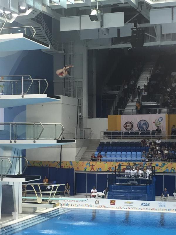 PanAmerican Games 2015: Toronto - Filion e Pacheco guidano le eliminatorie