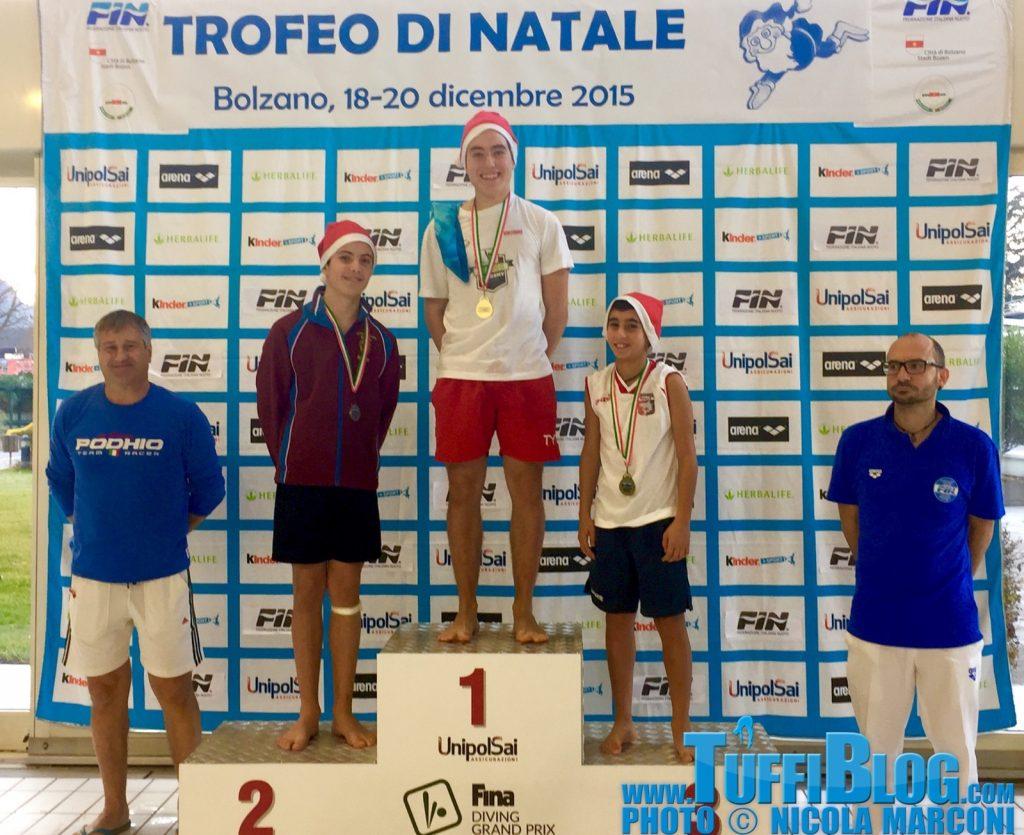 Trofeo di Natale: 1º giornata, mattina – i primi ori a Pellacani e J. Verzotto