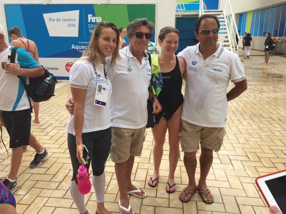 Coppa del Mondo: Rio - Maria Marconi pass d'imperio, Tania davanti a cinesi e Abel