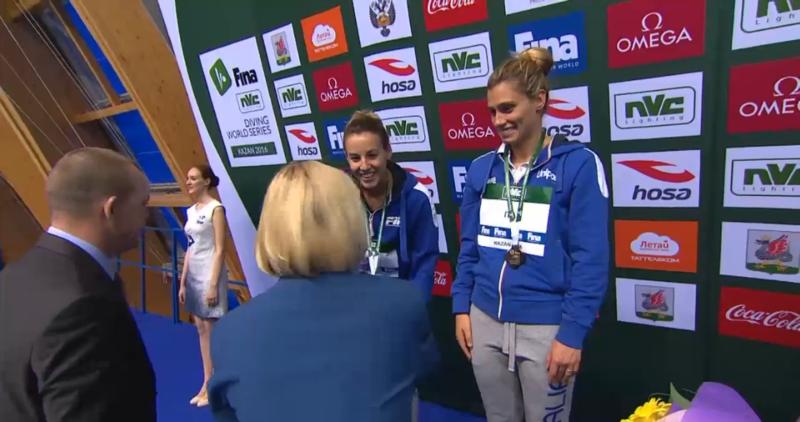 Fina Diving World Series: Kazan - argento super per Cagnotto-Dallapè!
