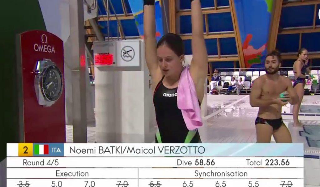 Fina Diving World Series: Kazan - Batki e Verzotto quinti dalla piattaforma.