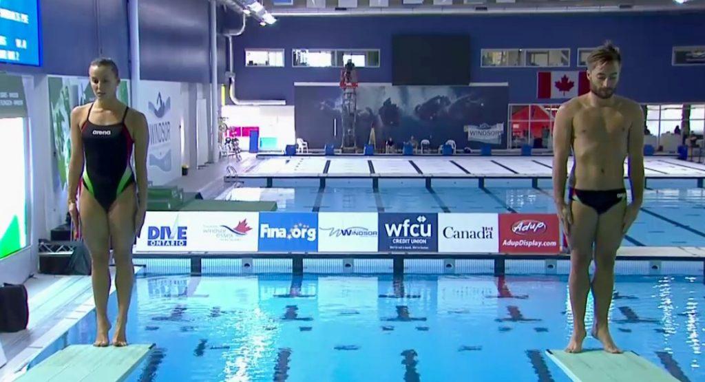 Fina Diving World Series: Windsor - Sincro misto: Italia quarta, vince il Canada!