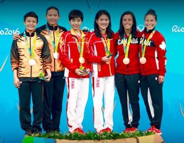 Olimpiadi 2016: Rio - la Cina vince ancora, a Ruolin e Huixia il sincro dalla piattaforma.