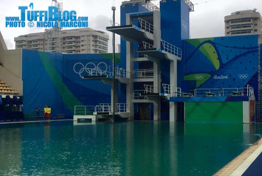 Olimpiadi 2016: Rio - Acqua verde, sospesi gli allenamenti!