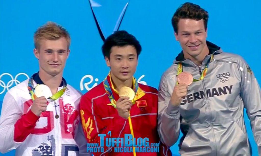 Olimpiadi 2016: Rio: a Cao la vittoria, Laugher argento, Hausding bronzo.