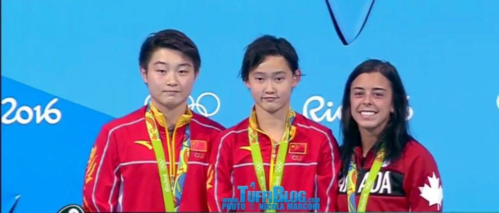 Olimpiadi 2016: Rio - A Ren Qian la vittoria, ma Meg Benfeito e Rosie Filion fanno l'impresa!