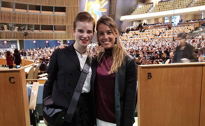 NewSplash: Tania Cagnotto e Bebe Vio per i diplomatici del futuro.