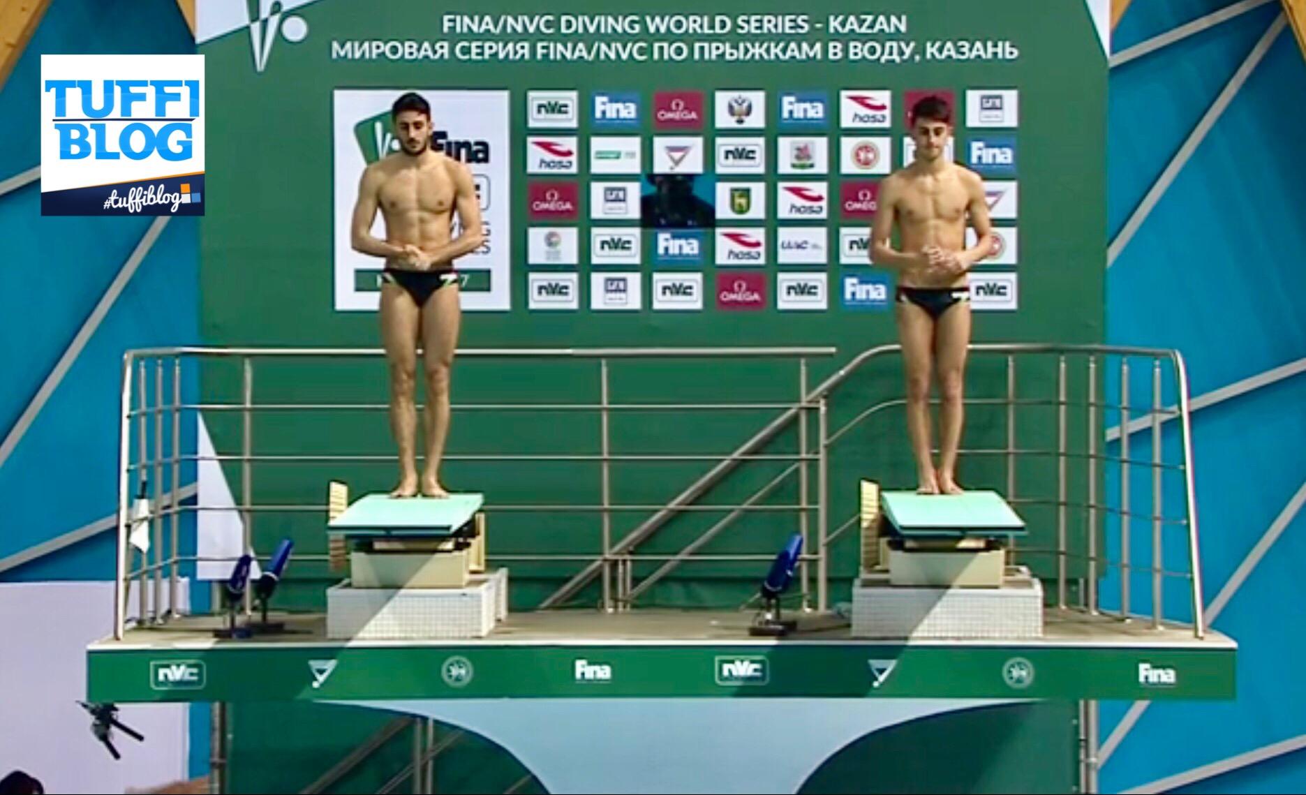 FINA Diving World Series 2017: Kazan — Tocci - Porco, il rovesciato compromette la gara!