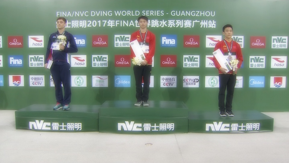FINA Diving World Series 2017: Guangzhou — en plein Cina, Chen Aisen a quota 601!