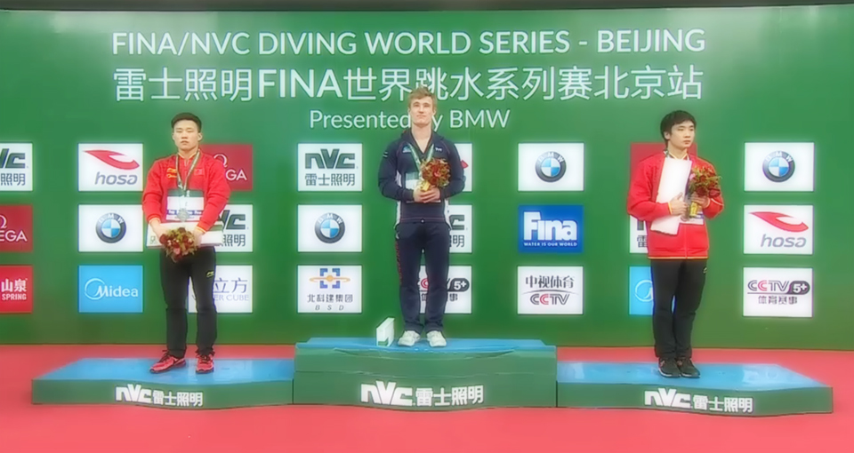 FINA Diving World Series 2017: Pechino - Laugher unica crepa nel dominio cinese
