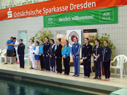 Dresden Youth Diving Meet: la nazionale giovanile in Germania.